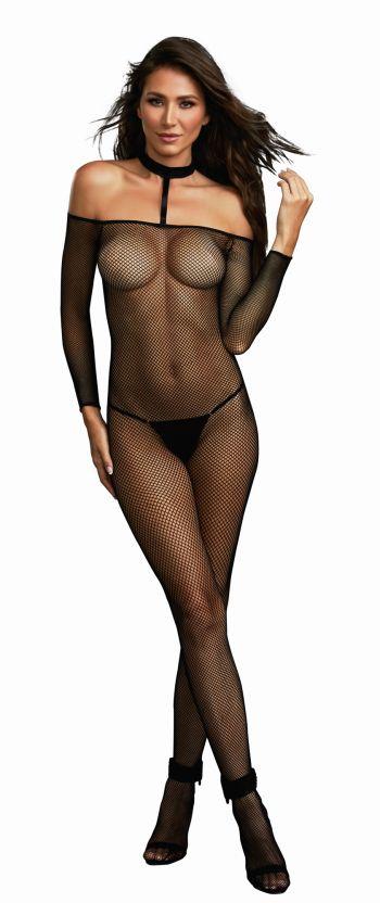 Σέξυ διχτυωτό ολόσωμο καλσόν DREAMGIRL